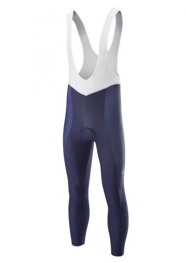 women's winter cycling  bib tights - Superroubaix Endurance