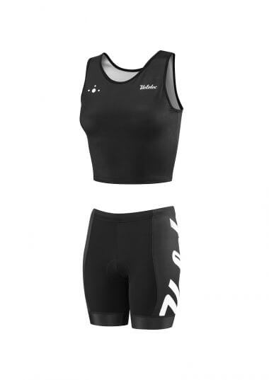 ladies tri top & Shorts - Custom TRI & RUN clothing